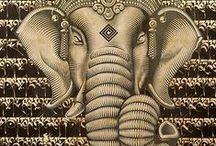 "031. Of Elephants ......... / ""of lordly elephants I am Airavata"" Bhagavad Gita 10.27"