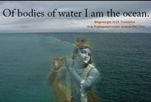 """034. Of bodies of water ....... / """"of bodies of water, I am the ocean"""" Bhagavad Gita 10.24"""