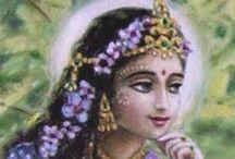 002. Srimati Radharani / The shakti of Lord Krsna