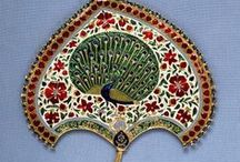 080. Deity Turbans, Hair, Paraphanalia, Jewelry for Deities