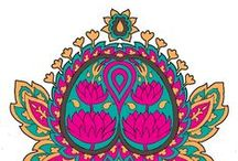 090. HEALING Indian Symbols
