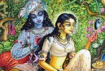 018. Radha with Krsna lila (pastimes)