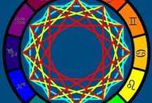 088. HEALING Symbols - astrology / Western or Eastern astrology can give you insights on what to focus on for healing and spiritual growth