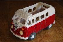 Knit / Crochet / Knit / Crochet