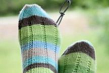 Sukkia ja lapasia / Socks and mittens etc