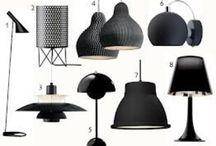 Lamper / Ideer til vores nye spisebordslamper