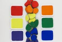 Colors / Color learning, crafts, activities, learning ideas for kids with colors.
