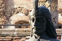 Dracula Legend in Romania / In Romania you'll discover so many sights related to Bram Stoker's character: Dracula. With Touring Romania Private Tours Company, you'll learn all about the real historical figure: famous Vlad the Impaller.