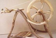 spinning wheels / by froukje(wolmuts)