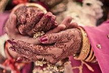Desi Wedding / Indian and Pakistani brides and grooms on their big day!