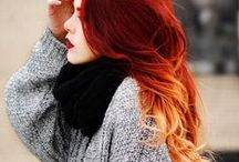Like Wildfire / I've always been obsessed with red hair. Red is my favourite colour and red stands out from the rest.