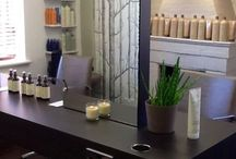 The Combe Shed Salon / Our beautiful salon <3