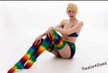 Tie dye for the Ladies... / Tie dye fashion by Scott Shane principle artist and founder of Tied Up & Dyed