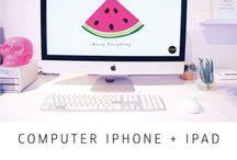 New desktop / Cute desktop design wallpaper
