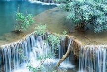 """""""ÁGUAS LINDAS"""" / praias, rios,cascatas, cataratas. ...do nosso mundo"""