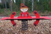 Oulun leikkipuistot / Tähän tauluun on koottu vinkkejä Oulun kaupungin leikkipuistoista.