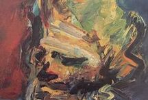 Frank Auerbach Artist / He may just be my favourite artist!