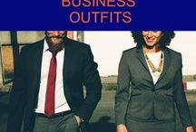Business outfits / Show your professional side with a modern and inspiring work outfit
