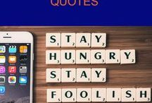 Quotes / Sometimes you need that extra push to get you through a deadline or to keep you going when you don't feel like it. Motivational quotes, inspiring words, uplifting quotes, you'll find it all here.