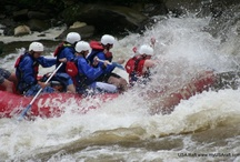 Rafting adventures with USA Raft / Whitewater rafting on the Nolichucky and French Broad Rivers in NC & TN. We have white water rafting near Asheville & Boone, NC or Johnson City, TN. Try the Lower Nolichucky River in Erwin, TN for ages 4 and up if looking for great family adventure with young kids; the French Broad River if you want an adventurous introduction to white water rafting and the Nolichucky River Gorge is not be missed if you are looking for excitement. For a unique and fun experience try Worleys Cave.