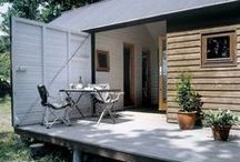 Cargo Container Homes / Great idea for a getaway  / by Cathy Stewart Moore