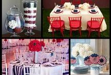 "Red, White, and Blue ""I do"""