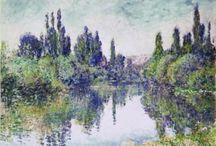 Impressionism / Peinture impressionniste, Impressionism painting.