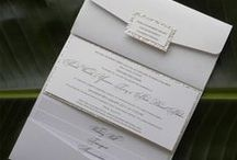 Cartes D'invitations Mariages..Marque Place..Numéro de table..ect / Mariages...Marque place et Numéro de Table... / by Caroline Raymond