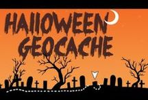 Geocaching Holidays - Halloween / Geocaching items related to Halloween, be they swag, geocoins, or geocaches.