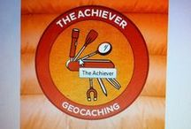 7 Souvenirs of August 2014 / August 2014 is your chance to get earn 6 new geocaching souvenirs for finding different geocache types.  Grab them all and unlock a special 7th souvenir!