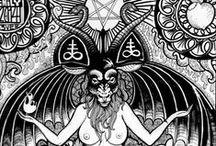 Satanic graphic