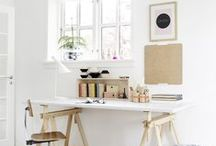 | W O R K S P A C E | / Inspiration pictures for my dream office / workspace ♥