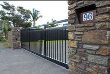 Residential Gates & Fencing / Ideas for gates, fencing and security for your home