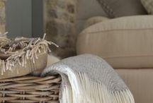 Cozy home / Przytulne wnętrza, ciepłe i naturalne dekoracje do domu.