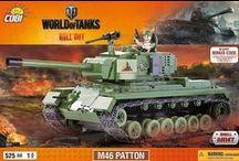 World of Tanks / Small Army World of Tanks to kolekcja czołgów opracowanych na podstawie znanej na całym świecie gry on-line. Kolekcja składa się z 16 najpopularniejszych czołgów. Wśród nich fani znajdą czołgi brytyjskie, niemieckie, amerykańskie i rosyjskie.  Zabawa kolekcją Small Army World of Tanks to nie tylko możliwość samodzielnego zbudowania czołgu, którym gracze walczą podczas gry on-line, to także realna korzyść, którą mogą uwzględnić podczas starcia.
