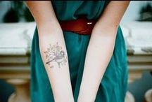 tattoos I will never get / I'm deathly afraid of needles, and hopelessly indecisive. That makes the possibility of a tattoo unlikely. But I still admire the beauty of a well-done tattoo. I'm all about simple, understated, and classic. Oh, and able to be hidden by every piece of clothing I own. / by Erin Pate