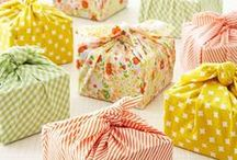 Wrappings / Because the outside should be just as exciting as the inside.