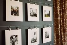 Creative - Walls / gallery wall collections focusing on photos and art.