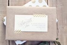 make + do // gift wrapping / by Erin Pate