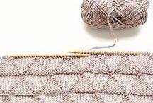 make + do // knitting + crochet / by Erin Pate