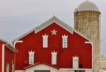 Barns / love, love, love / by Simply Bungalow