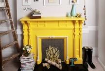 a wanna be fireplace