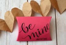 Valentine's Ideas / Tons of ideas for Valentine themed decor, cards, and gifts!