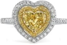 Canary Yellow Diamond Engagement Rings