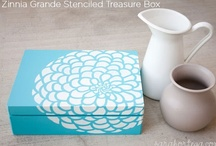 Cutting Edge Stencils Inspiration / by Amy Latta {One Artsy Mama}
