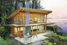 Homes: Green homes and sustainable green living. / Sustainable living is the best way to go!! / by Cecilia Bowerman