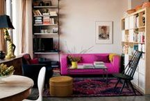 House and organization / Great architecture, living spaces, furniture appliances, and all the little things that makes a house a home. / by Jill Verkaik