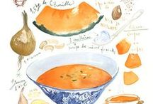 Food: Soups. / a winter warmer. / by Cecilia Bowerman