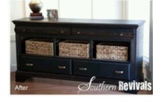 Dresser UpCycle  / by Kay Honeycutt