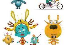 -Character design- / by Polina Elharar